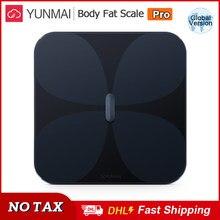 YUNMAI Smart Body Fat Scale Pro BMI Body Composition Scale LED Digital Bluetooth Weight Scale Bone Muscle Mass Analysis