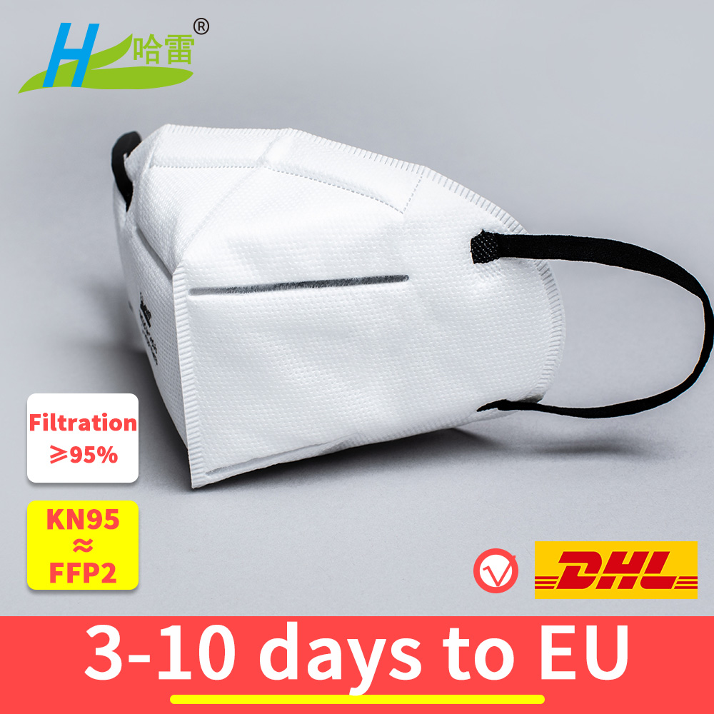 Disposable KN95 anti virus dust proof face mouth mask Mascherine Coronavirus 95% Filtration ≥ mask FFP2 not FFP3 work respirator title=