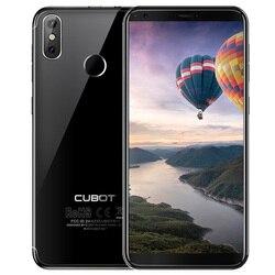 Восстановленный смартфон Cubot R11 3g 18:9 полный экран Android 8,1 2 Гб 16 Гб 5,5 дюйма MTK6580 четырехъядерный мобильный телефон с отпечатком пальца