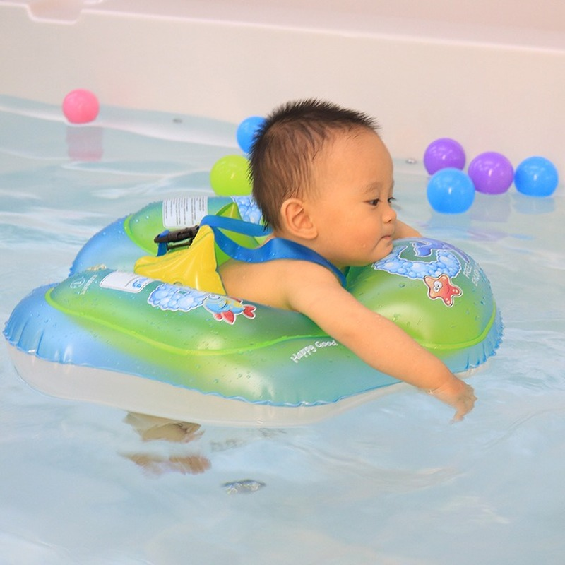 Baby Swimming Ring Swimming Pool Inflatable Infant Armpit Floating Kids Swim Pool Accessories Circle Bath Inflatable Ring