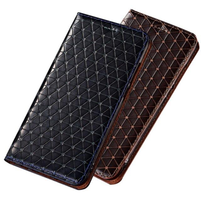 حقيقي حقيقي جلد حامل هاتف مغناطيسي الحال بالنسبة لجوجل بكسل 3 XL/جوجل بكسل 3 حقيبة الهاتف المحمول فتحة للبطاقات حامل حامل