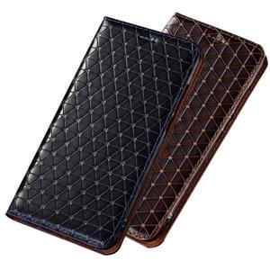 Image 1 - אמיתי אמיתי עור מגנטי טלפון מחזיק מקרה עבור Google פיקסל 3 XL/גוגל פיקסל 3 נייד טלפון תיק כרטיס חריץ מחזיק מחזיק