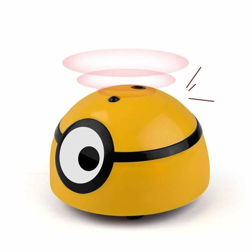 Juguete de inducción eléctrica para niños juguete de Control remoto de visión única pequeño hombre amarillo juguetes de inducción