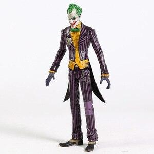 """Image 4 - DC Бэтмен Джокер ПВХ фигурку Коллекционная модель игрушки 7 """"18 см"""