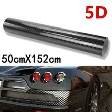 Side post Car Sticker Rim Glossy Black Door Handle Vinyl Windshield Wrap Interior Accessory