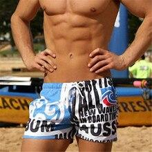 Summer New Casual Shorts Men Printed Beach Shorts Men Quick