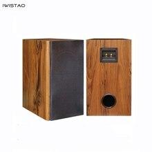 IWISTAO 6.5 cali głośnik pełnozakresowy obudowy puste głośnik pasywny obudowa z drewna 18mm MDF o wysokiej gęstości pokładzie głośności 24L DIY