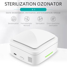 X1 Mini Ozone Generator Air Purifier USB Rechargeable Deodorizer Sterilizer for Car Home Ozone Sterilization Deodorizer
