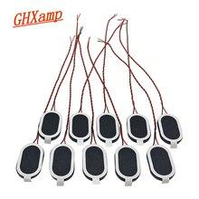 GHXAMP 24*15mm Unità di Altoparlante 8ohm 1w Mini Ovale Altoparlante per 1524 Tablet Computer di 10PCS
