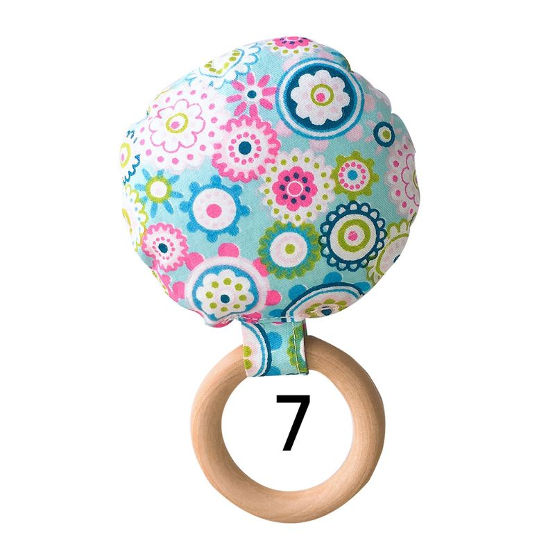 New Baby Teether Safe Wood Newborn Teething Ring Infants Shower Gift Molar Toys