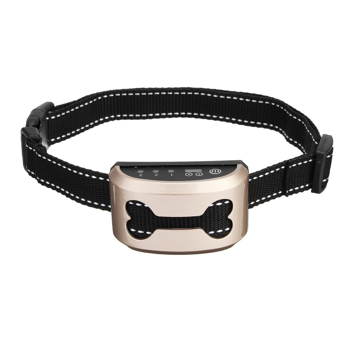Rechargeable and Anti Bark Dog Shock Collar for Dog Training with Remote and Voice Control 12