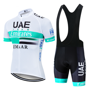 2020 TEAM UAE PRO Cycling Jersey 9D Gel Bike Shorts Suit MTB Ropa Ciclismo Mens Summer Bicycling Maillot Culotte Clothing