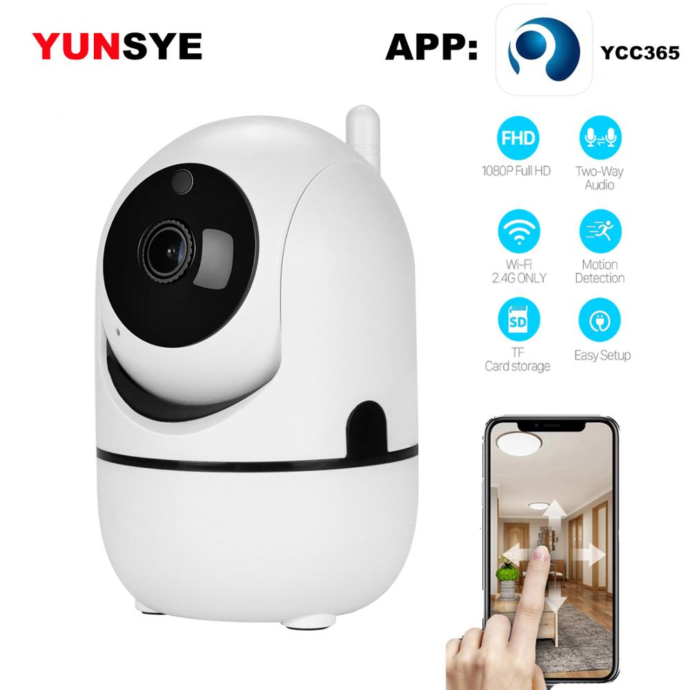 YUNSYE 1080P Cloud Wireless IP Camera Intelligent Auto Tracking CCTV For Home Security Monitoring Wifi Camera Baby Monitor IR:15