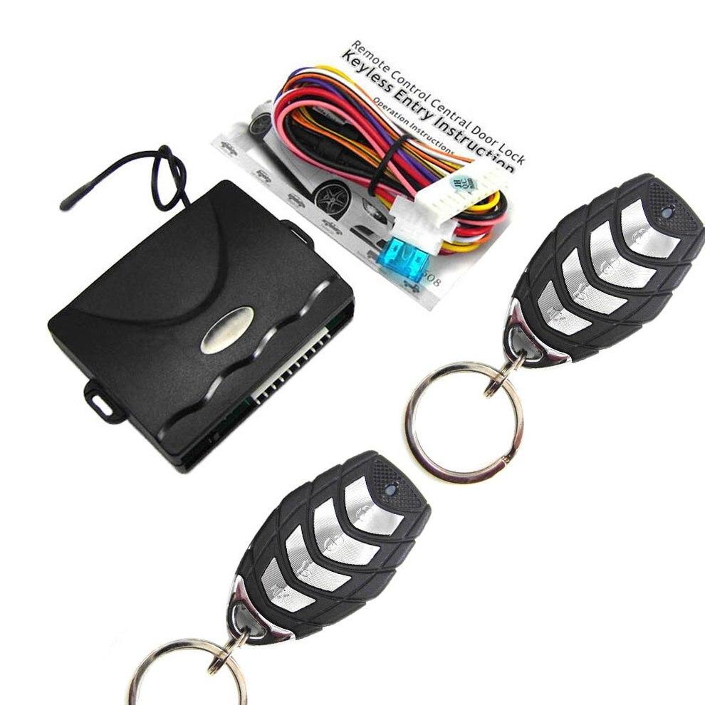 608-8193Universal 1 Set Auto Car Door Lock Vehicle Keyless Entry System Remote Central Kit