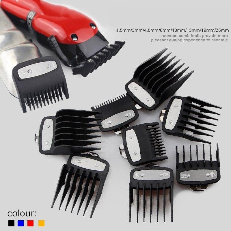 máquina de Cortar Cabelo barbeiro 8 Pçs