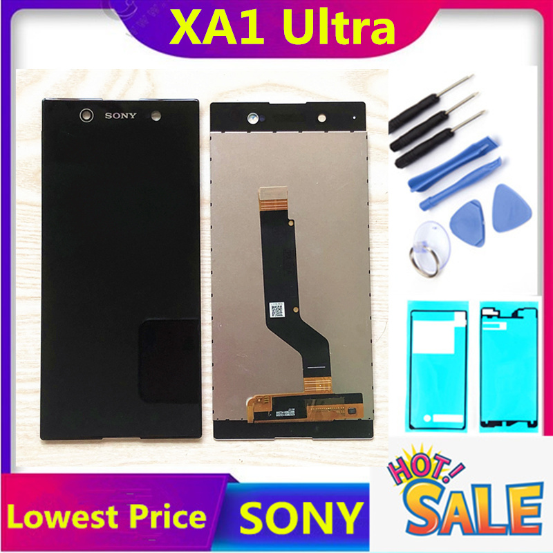 ORIGINAL LCD For Sony Xperia Xa1 Ultra LCD Screen Display And Touch Screen Digitizer Assembly  G3221 G3212 G3223 Free Shipping