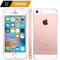 Unlocked Apple iPhone SE Cell Phones LTE 4.0' 2GB RAM 16/64GB ROM Chip A9 iOS 9.3 Dual-core Fingerprint Mobile Phone 1