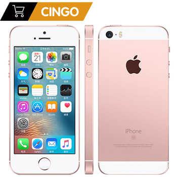 Unlocked Apple iPhone SE Cell Phones LTE 4.0\' 2GB RAM 16/64GB ROM Chip A9 iOS 9.3 Dual-core Fingerprint Mobile Phone - DISCOUNT ITEM  24 OFF Cellphones & Telecommunications