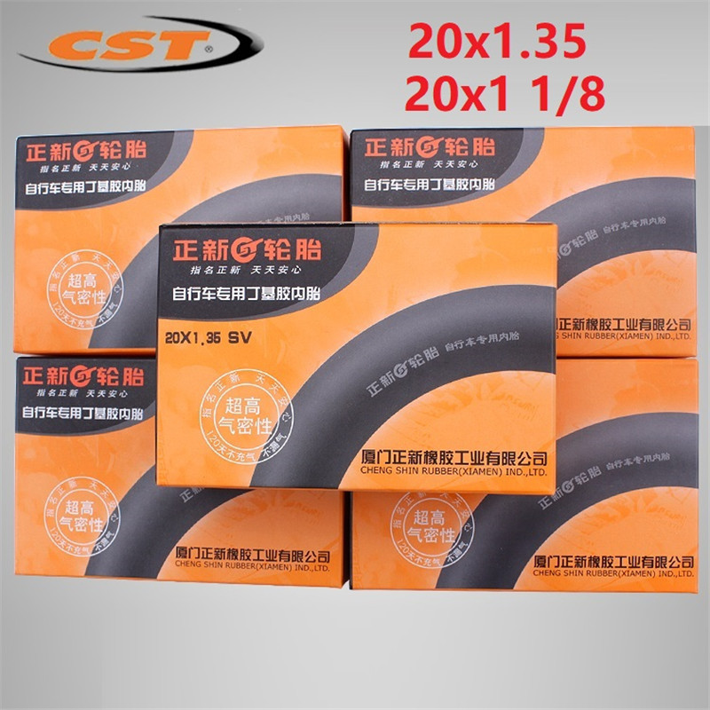"""20/"""" x 1-1//8 High Quality Inner Tube with Bicycle Cycling Bike Presta Valves"""