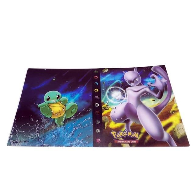 240 шт. держатель Альбом игрушки коллекции Pokemones карты Альбом Книга Топ загруженный список игрушки подарок для детей - Цвет: 1