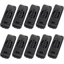 10PCS Small DCL Combat Loop Belt Clip For Kydex Sheath Holster With Screw DIY Parts