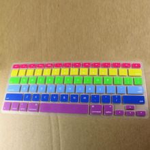 Apple MacBook Air Pro 13/15/17 New Style Monochrome Color Mixture Rainbow Keyboard Membrane Currently Available Wholesale