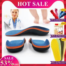 EID Orthotic Insoles for Kids Flat Feet Arch Support Children Insole Child Orthopedic Correction Shoes Pads Foot Health Care