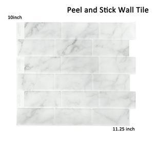 3D настенная плитка наклейка лучший продавец самоклеющаяся виниловая настенная плитка пилинг и палка задний всплеск кухня мозаика обои сти...
