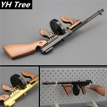1/6 Scale 1928 Thomson Submachine Gun Alloy Model Soldier Accessories WWII US Army Weapon Toys for 12 Action Figure Body