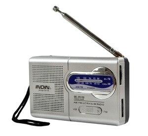 Mini Portable Radio Telescopic Antenna Speaker Outdoor Dual Band AM FM Music Player Universal Radio Receiver