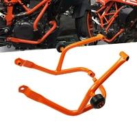 For Ktm Duke 390 250 Duke390 Duke250 2017 2019 Motorcycle Crash Bar Frame Slider Engine Guard Bumper Stunt Cage Frame Protection
