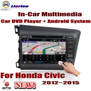 For Honda Civic 2012~2015 Car Android Player Radio DVD GPS Navigation Displayer System Audio Video In Dash Multimedia Head Unit