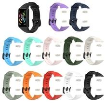 Силикон ремешки смарт часы ремень браслет красочный замена спорт браслет ремешки аксессуары ремешок для -Huawei Hono6