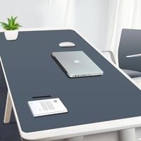 Gran alfobrilla de ratón Ordenador de juegos MousePad impermeable de la PU de cuero ratón alfombrilla de ratón para jugador XXL Mause alfombra PC escritorio Mat teclado Pad