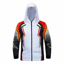 NEW Fishing Clothes/ Long Sleeve Clothes Men Outdoor Hooded Quick Dry Shirt/ Jersey Summer Fish Clothing