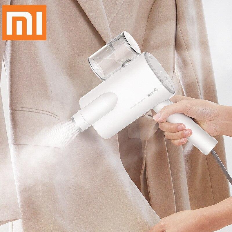 2019 nouveau Xiaomi Deerma 220v poche vêtement vapeur ménage Portable fer à vapeur vêtements brosses pour appareils ménagers