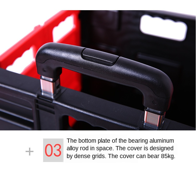 Recipiente plástico Back-up Tronco para o Automóvel