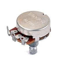 Pot de potentiomètre Alpha A250K/B500K 4 pièces pour remplacements de guitare électrique