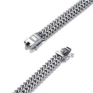 Image 5 - Prata antiga cor de aço inoxidável 12mm largura buda pulseira para mulher corrente bangle encantos pulseiras masculino pulseira jóias 014