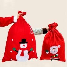 Candy Gift Bag Christmas Bag Cartoon Pattern Funny Bag Houehold Decoration Christmas Decoration Storage Bag цена 2017
