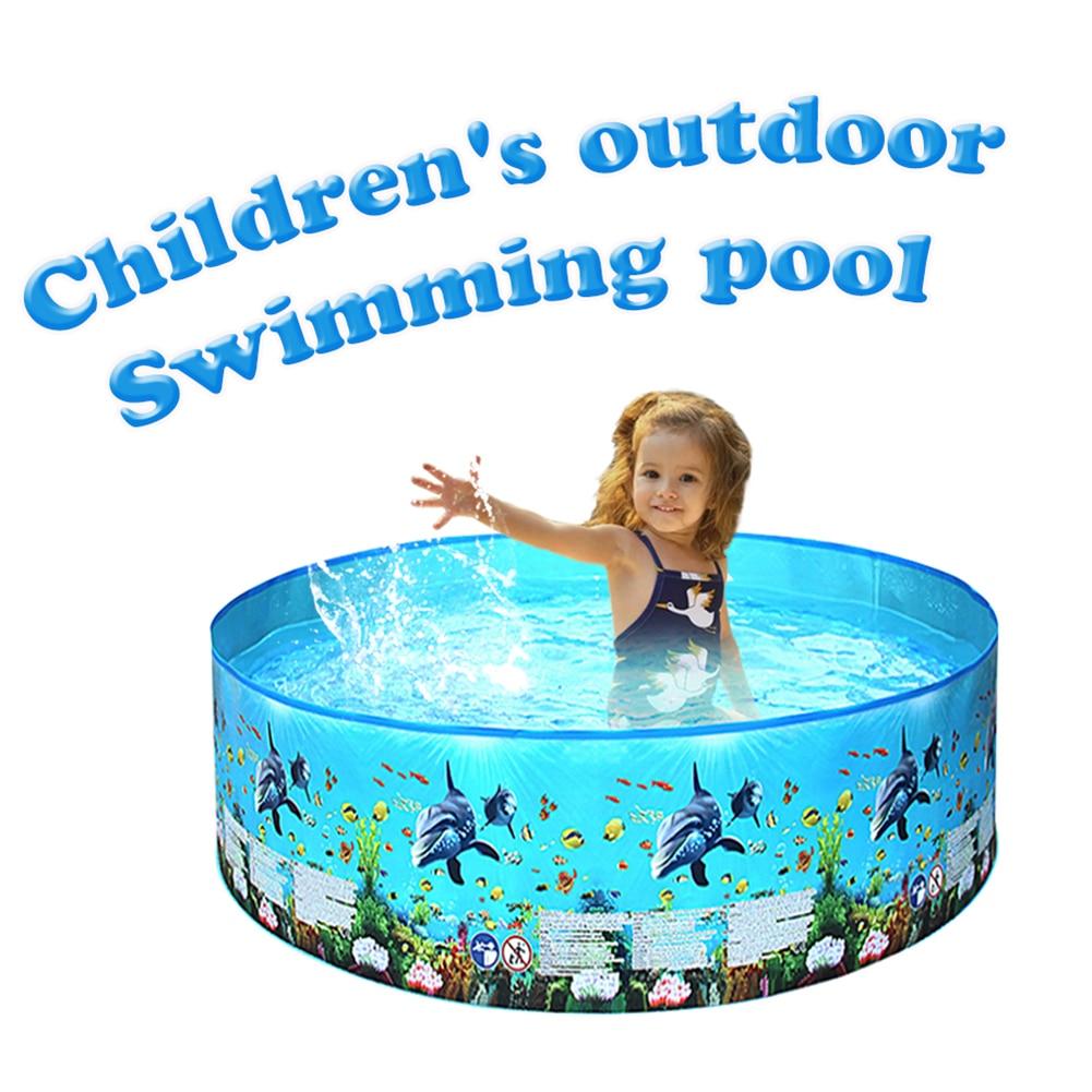 PVC bébé sécurité gonflable enfants piscine de bain piscine gonflable pour enfants piscine ronde extérieure intérieure jeu d'eau