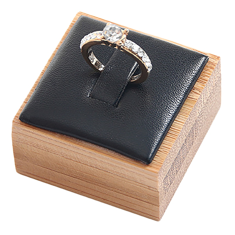 Fashion Ring Bracelet Jewelry Display Stand Holder Showcase Organizer Case Box