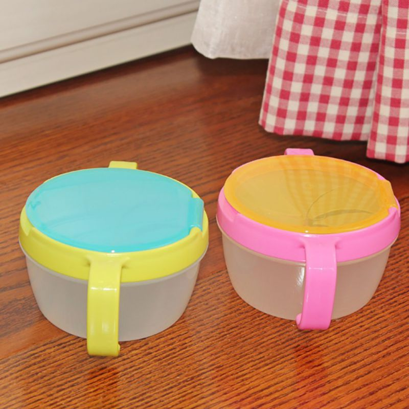 Funny Infant Baby Feeding Bowl Toy Double Handle Spill Proof Cup Biscuits Snack Bowl Gift Kids Accessories Cups