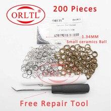 Reparación de anillo de sellado F00VC99002 tamaño 1,34 MM cerámica bolas F00VC05008 común inyector para riel 0445110275 de 0445120090 a 0445110059