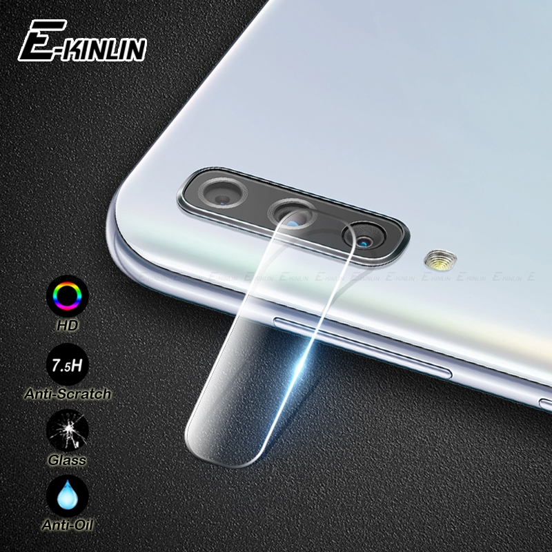 Image 1 - Back Camera Lens Tempered Glass For Samsung Galaxy A10s A10 A20 A20e A30 A40 A50 A60 A70 A80 A90 5G Protector Protective Film-in Phone Screen Protectors from Cellphones & Telecommunications
