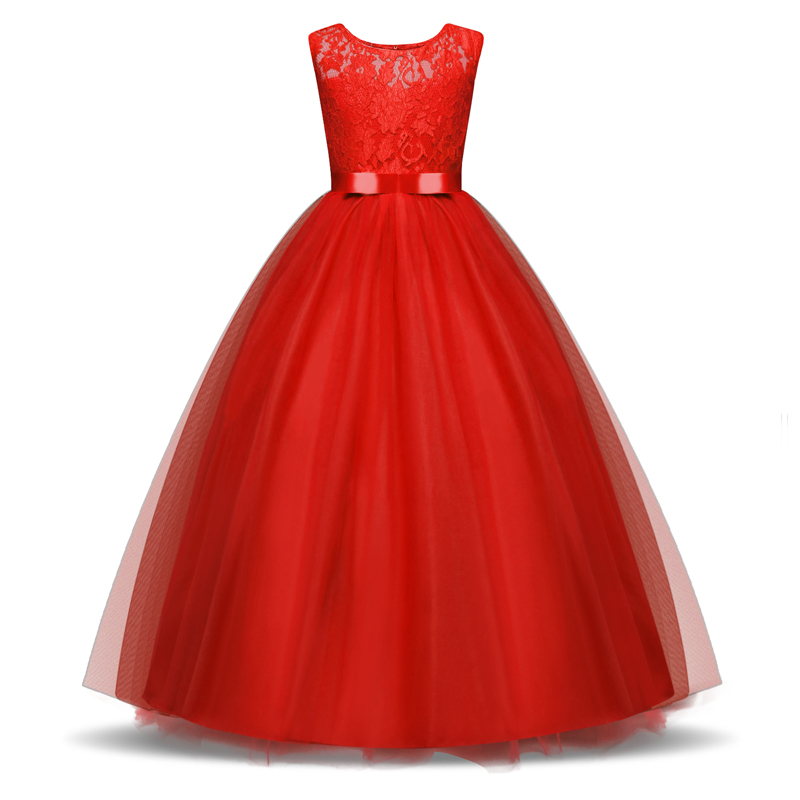 New Year Christmas Dress For Girls Wedding Costume Kids Dresses For Girls Princess Dress Evening Party Dress 3 6 7 8 10 Years 5