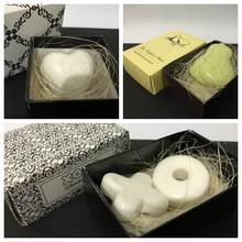 Свадебные сувениры идеальная пара ароматизированное мыло в форме груши и мыло в виде сердца для XOXO свадебного мыла и свадебного душа