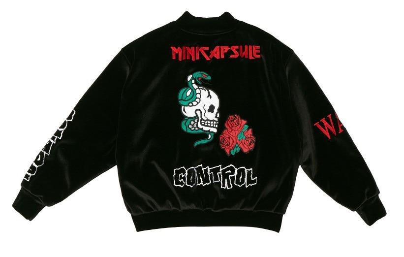BTS Bulletproof Boys Hoodie Jimin Celebrity Style Jacket Men And Women Embroidery Gold Velvet Hoodie Coat Zipper Clothes