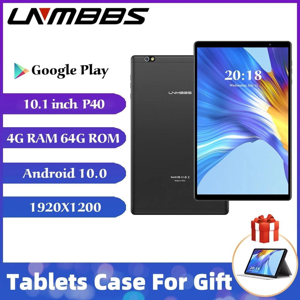 LNMBBS P40 tablet 10,1 zoll android 10.0 tabletten ram 4gb ROM 64gb SC9863A  OCTA Core 1920*1200 ips kamera Bluetooth GPS Tablet PC|Tablets
