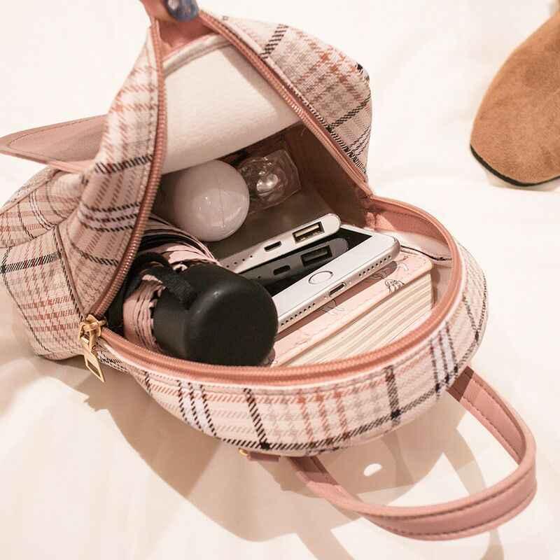 Vento Marea Mini Rugzak Crossbody Tas Voor Tiener Meisje Plaid Vrouwen Schouder Telefoon Portemonnee Koreaanse Stijl Nieuwe Trendy Vrouwelijke Bagpack